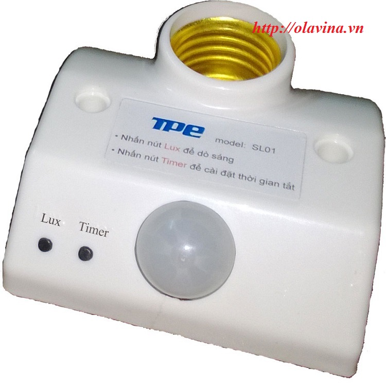Đui đèn cảm ứng chuyển động SL01
