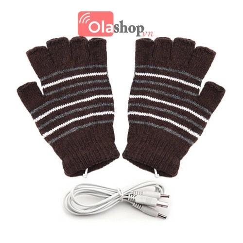 Găng tay sưởi ấm cắm cổng USB