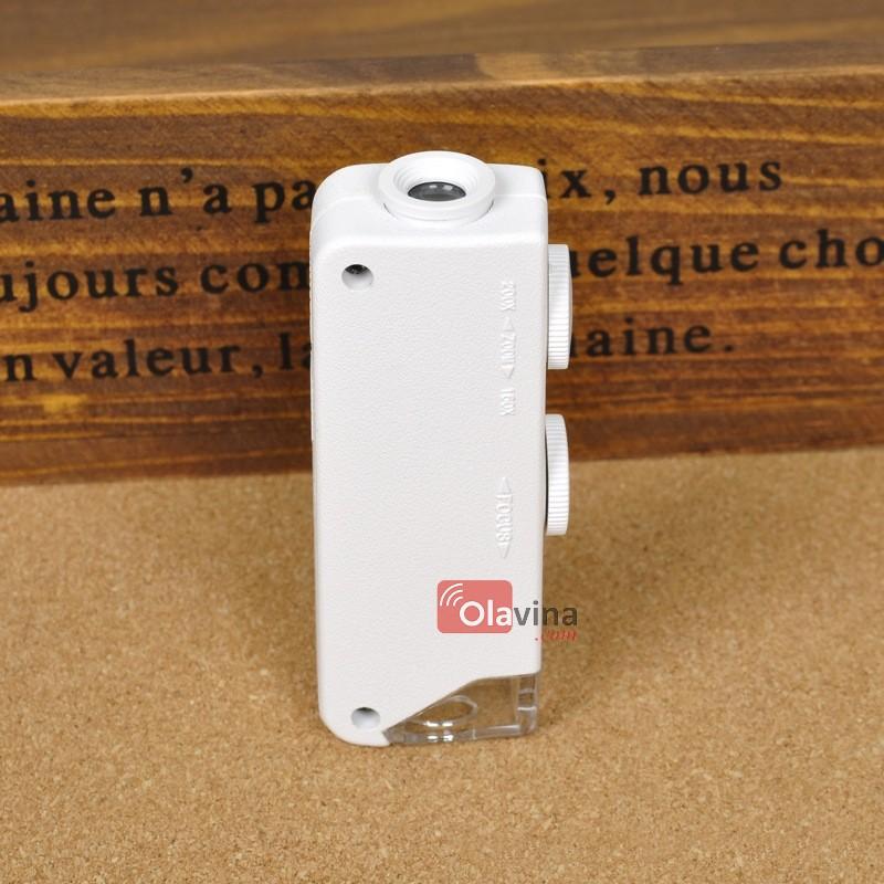 Kính lúp mini 160x - 200x có đèn