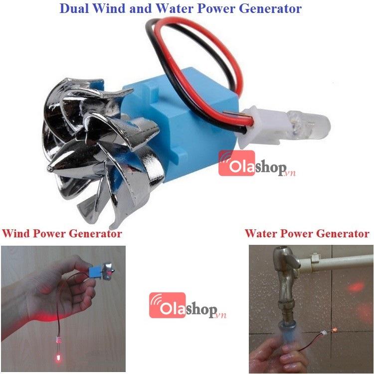 Máy phát điện gió Mini Hybrid