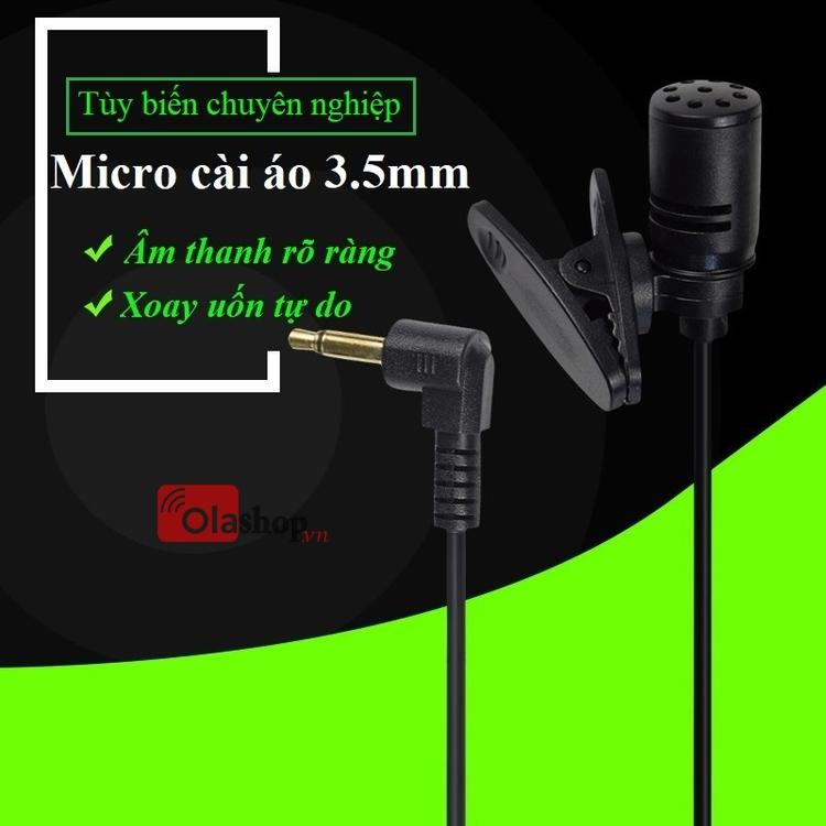 Micro cài áo 3.5mm
