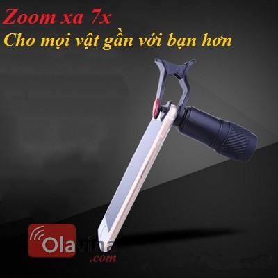 Ống kính chụp ảnh zoom 7x đa năng cho điện thoại