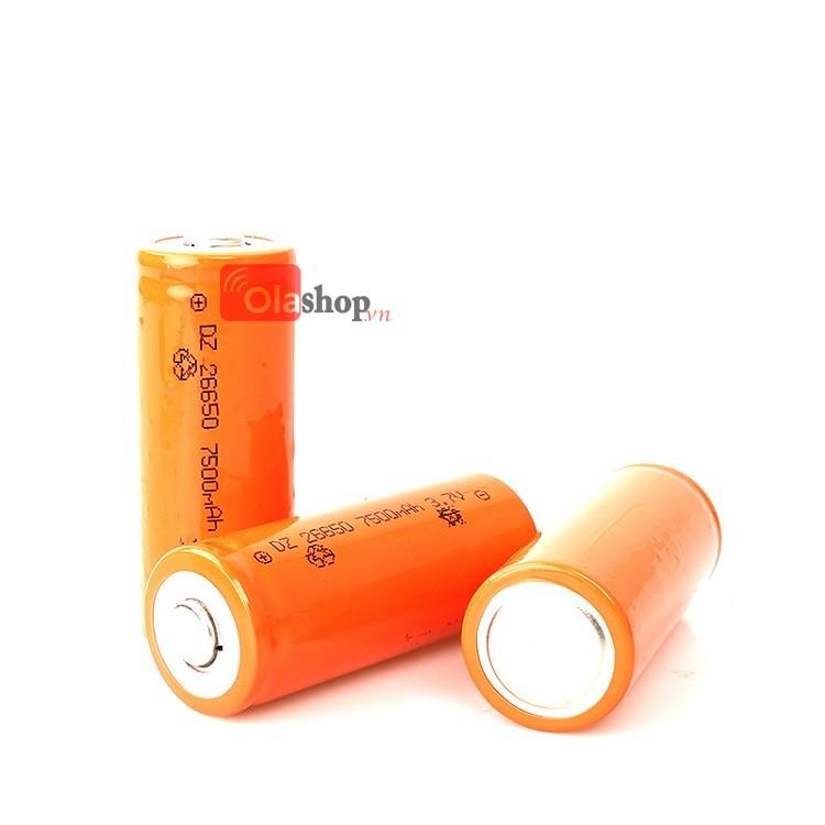 Pin sạc Lithium 26650