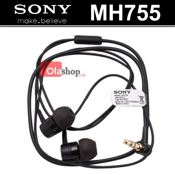 Tai nghe Sony MH755 dây ngắn