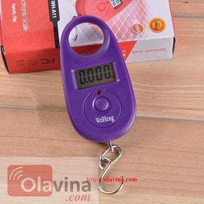 Cân móc điện tử bỏ túi 25kg/5g