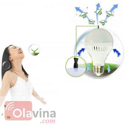 Đèn LED ION âm lọc không khí