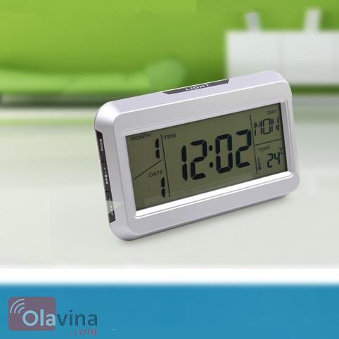 Đồng hồ đo nhiệt độ đèn Led cảm biến âm thanh
