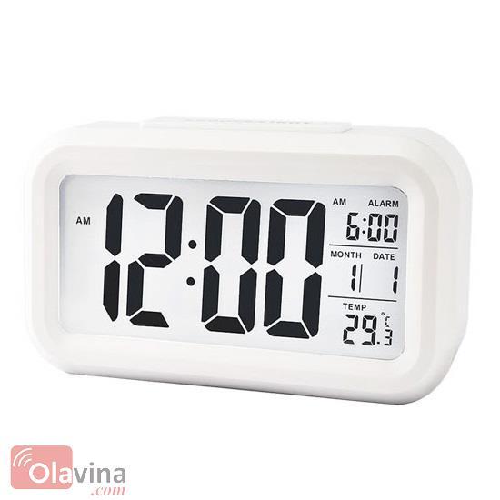 Đồng hồ đo nhiệt độ đèn Led cảm biến ánh sáng
