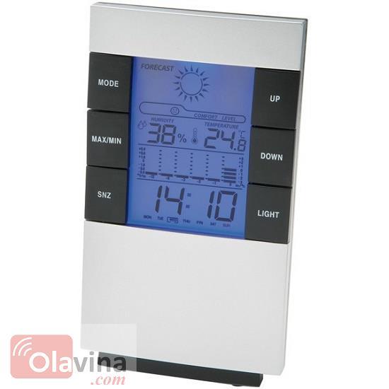 Đồng hồ đo nhiệt độ, độ ẩm, thời tiết có đèn Led