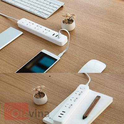 Ổ cắm điện kèm sạc USB thông minh Mi Power Strip