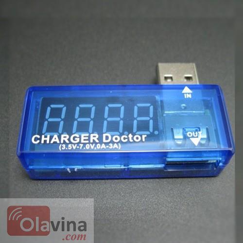 Thiết bị đo điện áp và dòng điện cổng USB