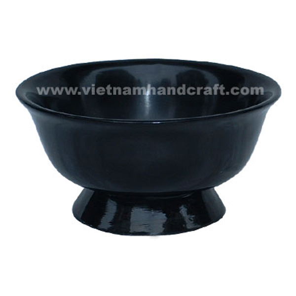 Black lacquer candy bowl