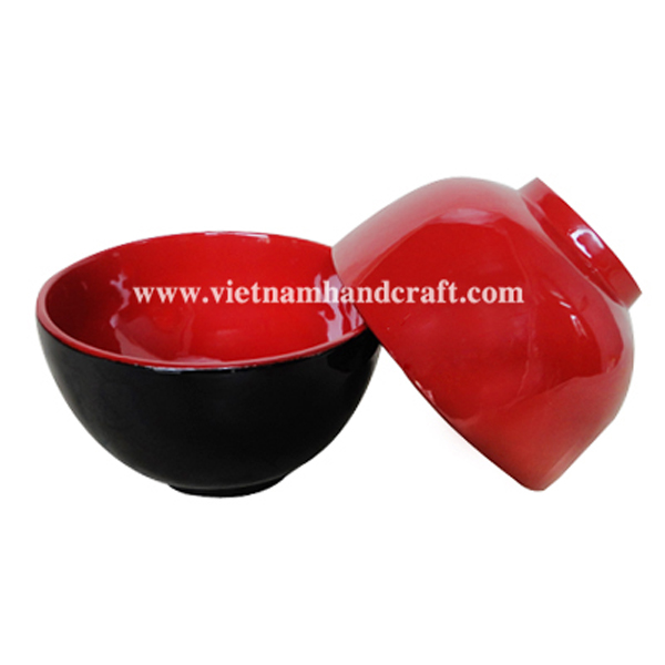 Lacquer candy bowl