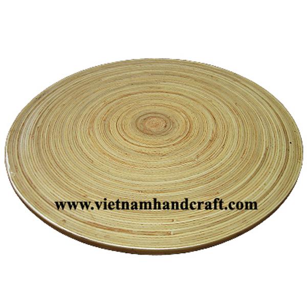 Natural bamboo dining placemat