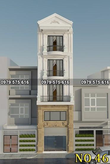 Thiết kế nhà ống 4 tầng (4.2x14.5m)