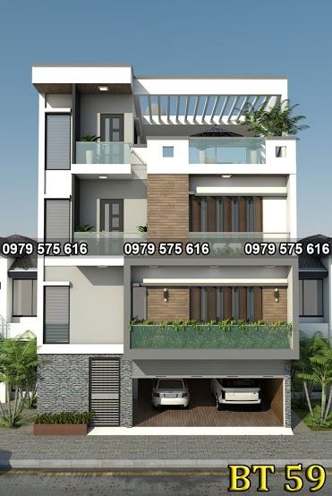 Thiết kế biệt thự hiện đại (10x8.5m)