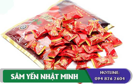 kẹo sâm vitamin hàn quốc