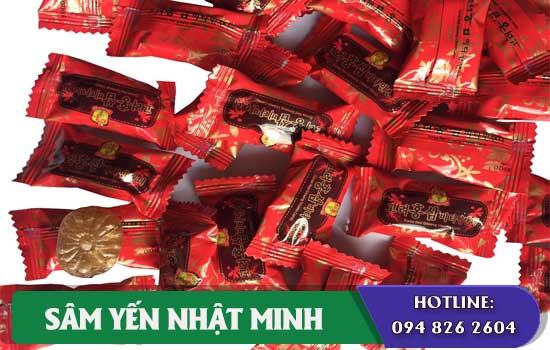 Kẹo hồng sâm Vitamin của Hàn Quốc