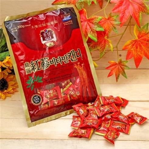 TPCN: Kẹo hồng sâm Vitamin 200gr