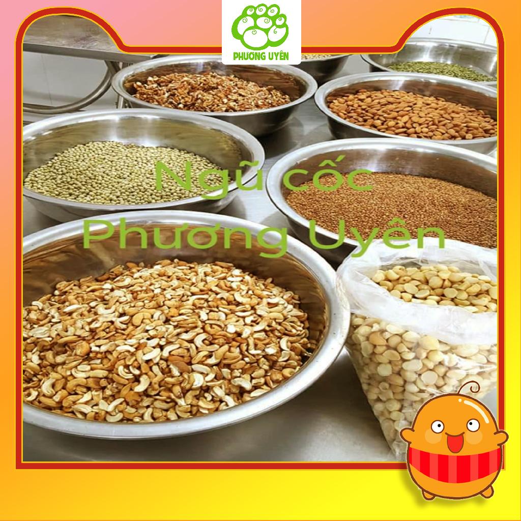 Ngũ cốc nguyên hạt Phương Uyên 8 loại hạt dinh dưỡng hộp 1kg