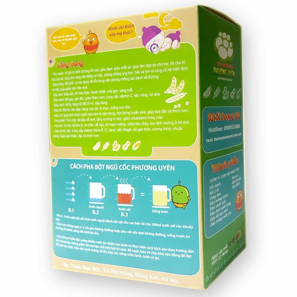 Ngũ cốc giảm cân lợi sữa Phương Uyên