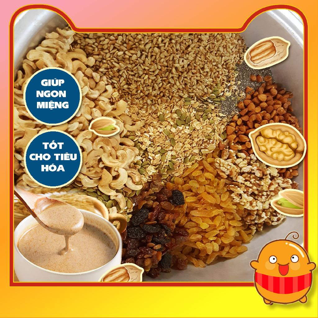 Bột ngũ cốc tăng cân Phương Uyên loại 20 hạt cho người gầy tăng cân tăng cơ dùng tốt với sữa.