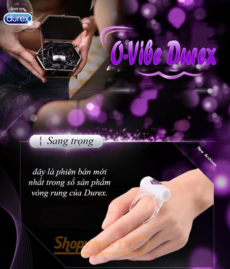 Vòng rung tình yêu Durex Vibration Ring chính hãng