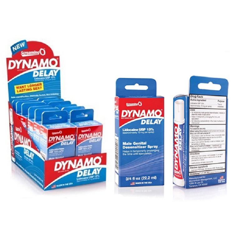 Thuốc xịt Dynamo Delay thuốc xịt chống xuất tinh sớm hiệu quả nhanh
