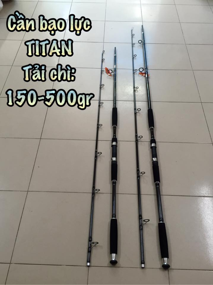 Cần TITAN Extreme Fight (3m)