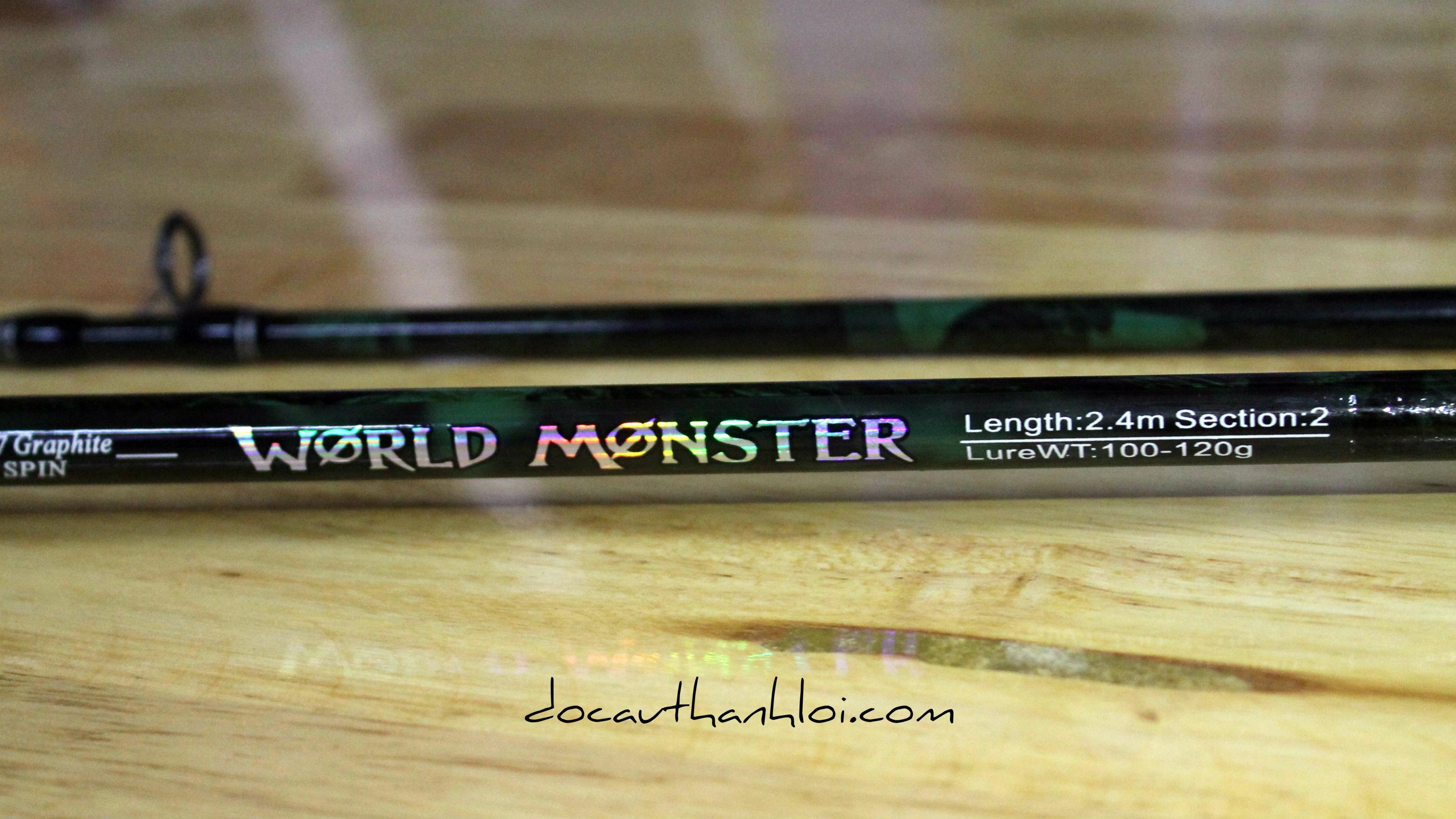 Cần Coastline World Monster (2m4/2m7/3m)