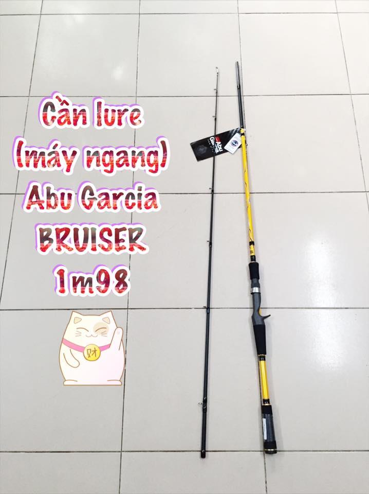 Cần lure (máy ngang) Abu Garcia BRUISER
