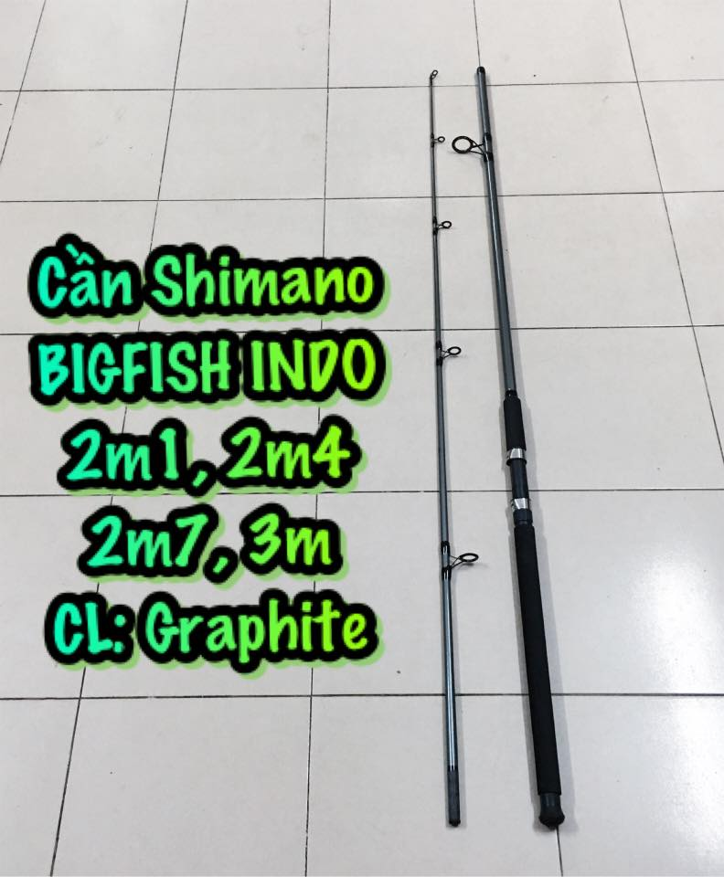 Cần Shimano BIGFISH Indonesia (2m4)