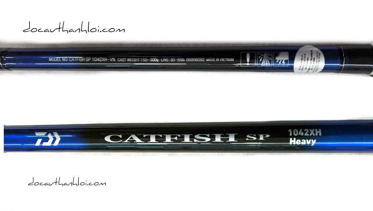 Cần Daiwa CatFish (Khoen Alconite)