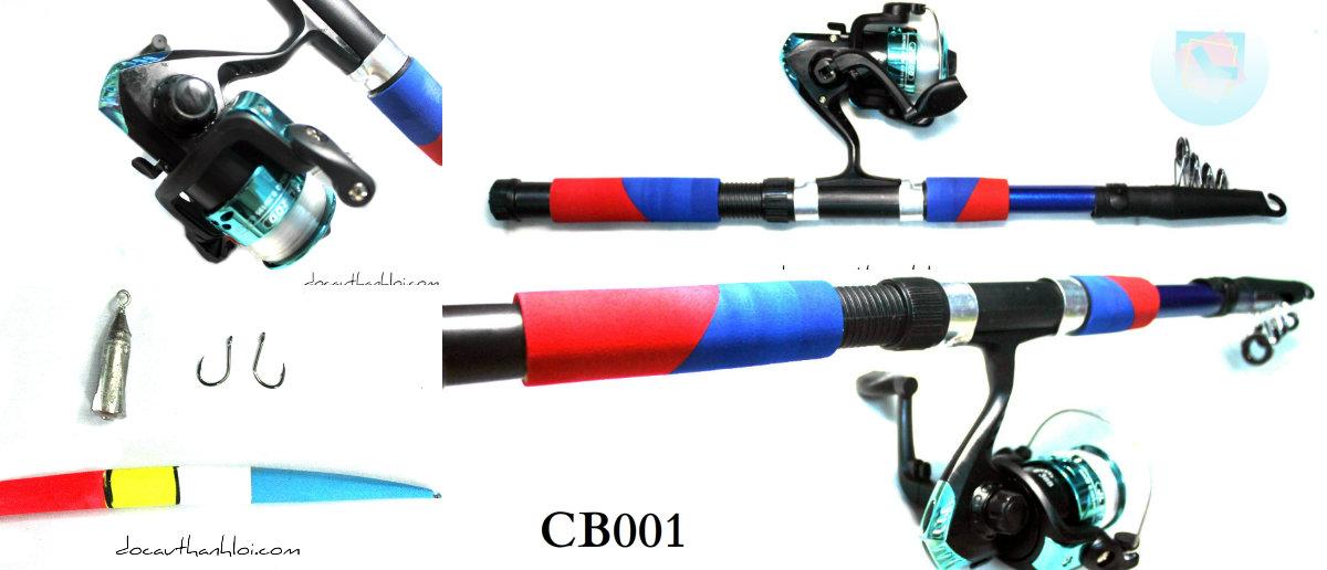 Bộ Cần Xếp Dã Ngoại  DOUBLE FISH        CB001