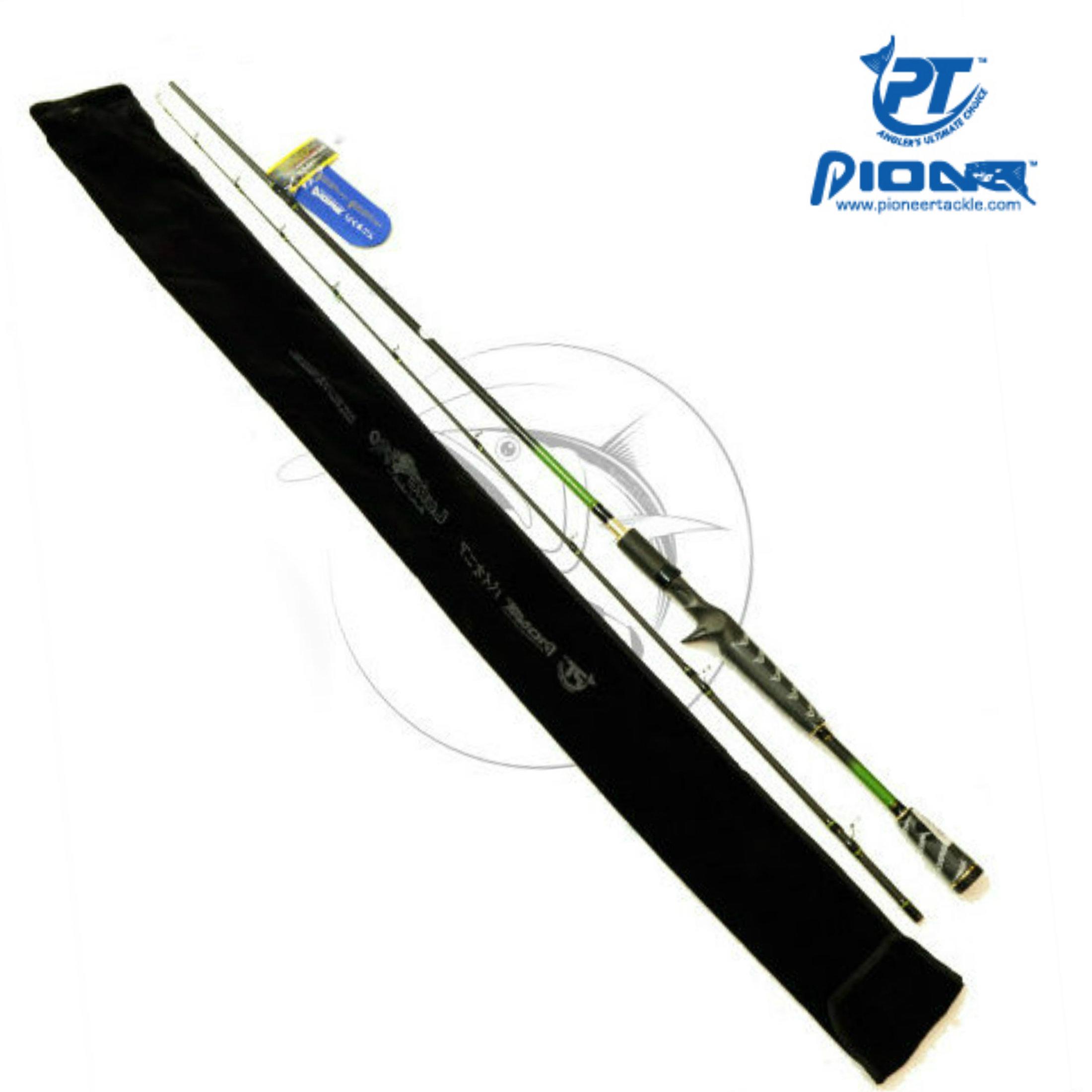Cần lure (máy ngang) Pioneer LURE PRO (1m95/2m1)