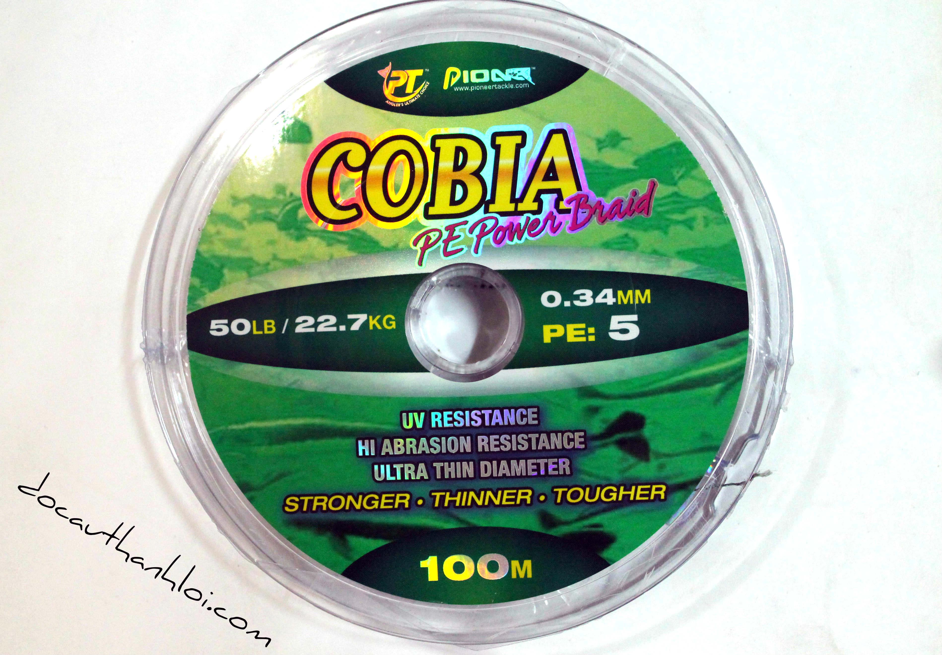 Dây Dù Xanh  COBIA (100m)    DD001