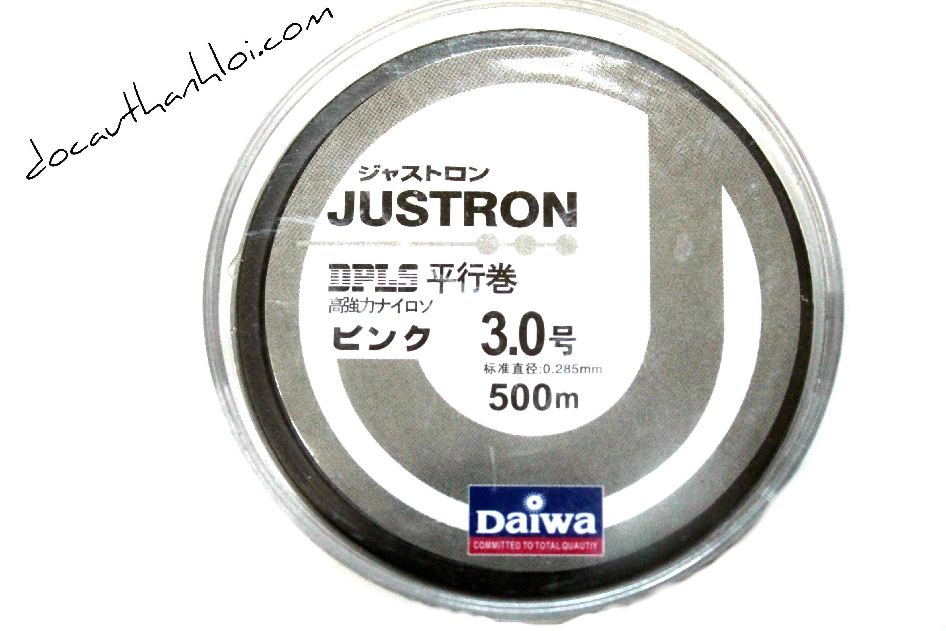 Dây cước Daiwa  JUSTRON (500m)    DC002