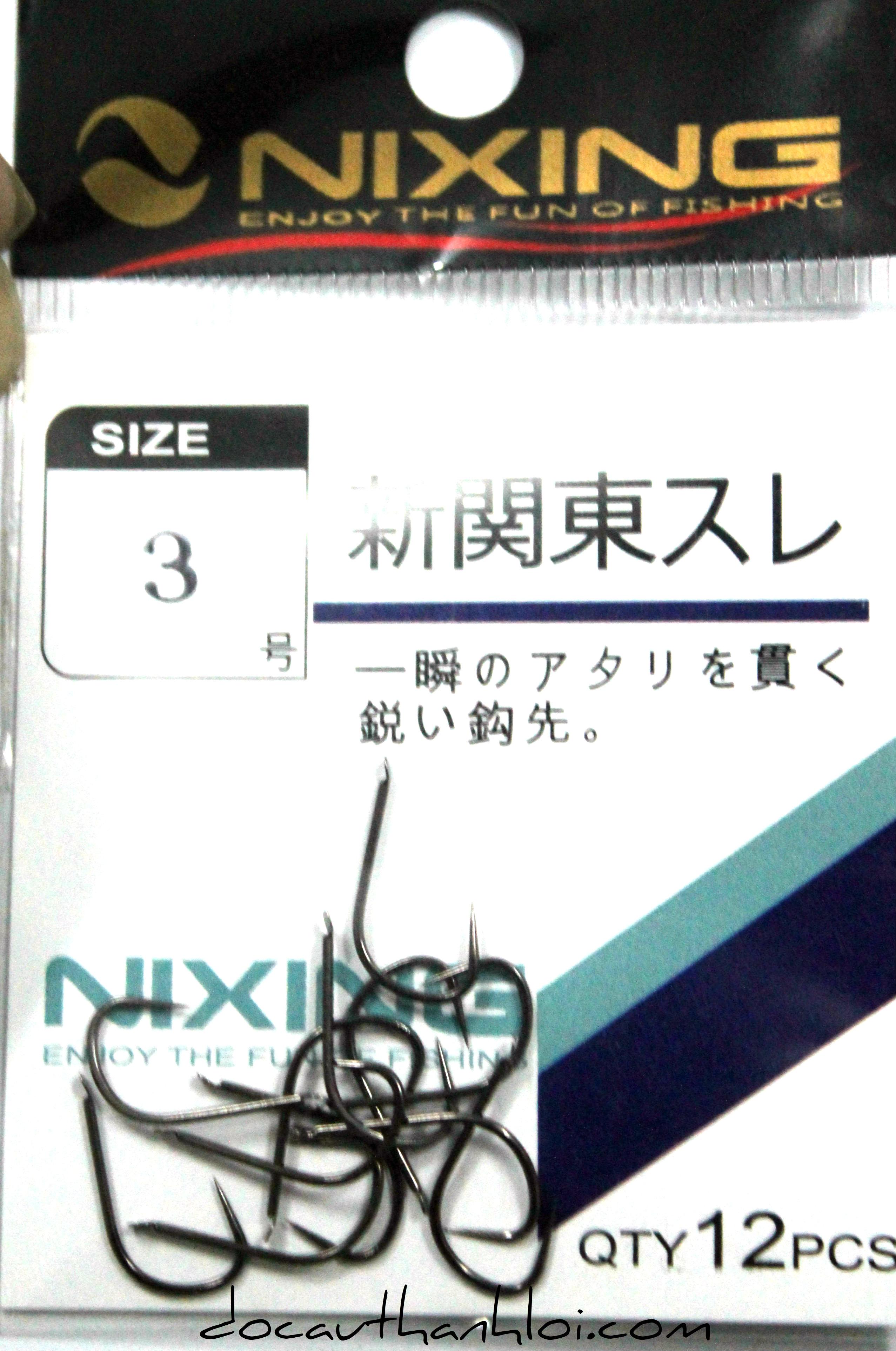 Lưỡi NIXING ( Không ngạnh - đen )     LC002