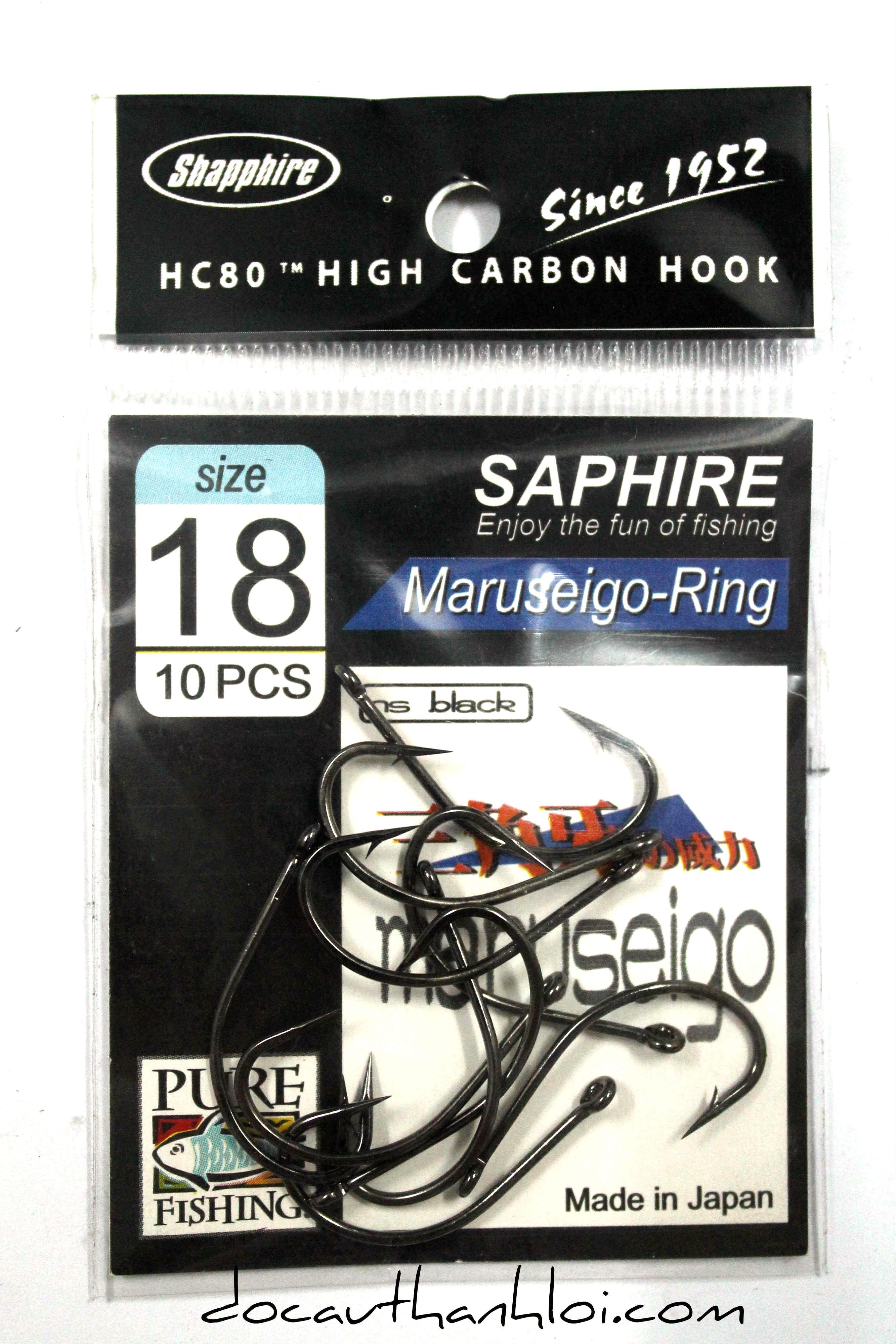 Lưỡi MARUSEIGO-RING   (Có Ngạnh- Khoen)    LC007