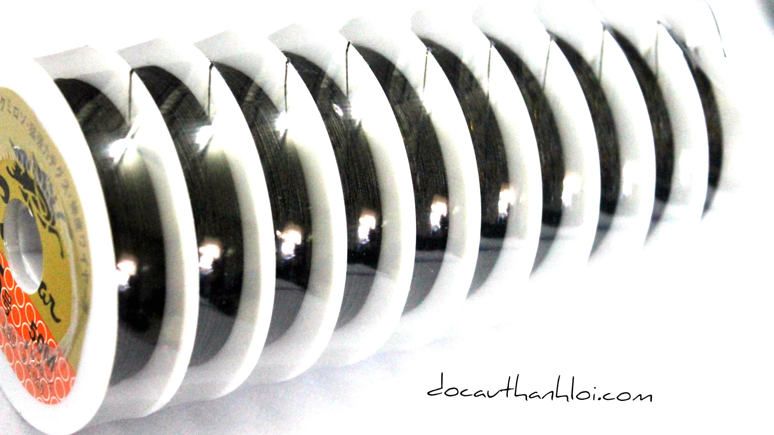 DD004 Dây dù siêu bền Rồng Đen (50m/cuộn)