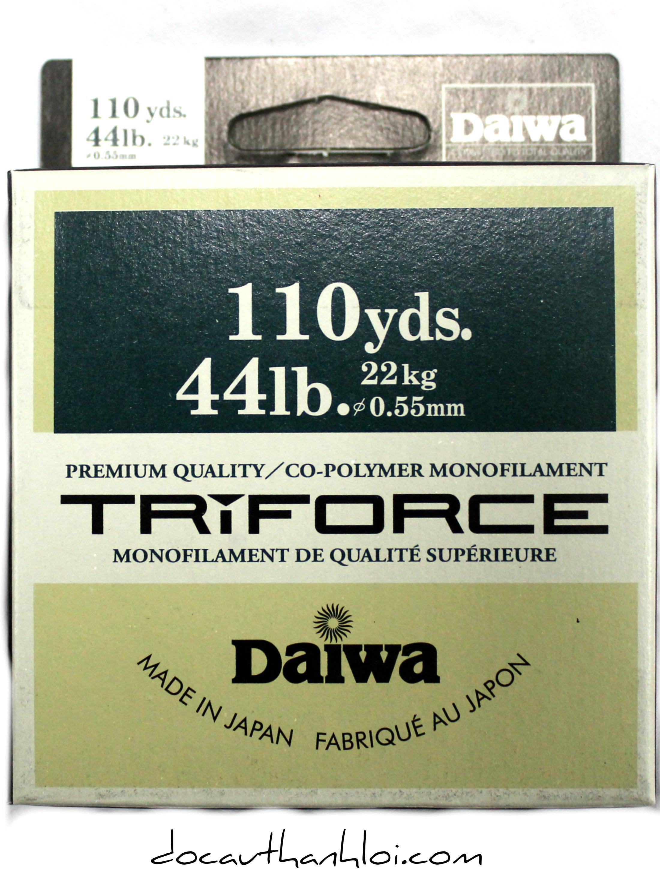 Dây cước DAIWA TRIFORCE   DC032