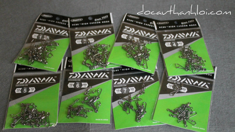 Khoá Daiwa (10pcs/gói)
