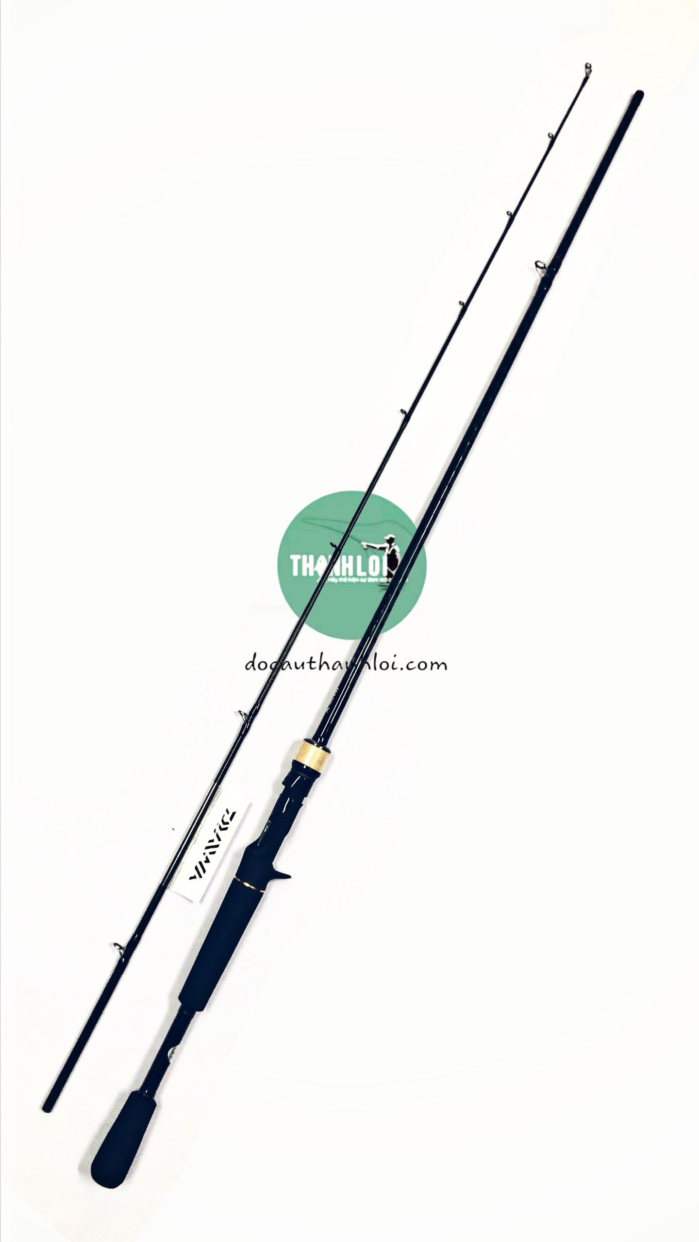 CẦN DAIWA BASS X 672MHB  (MÁY NGANG)