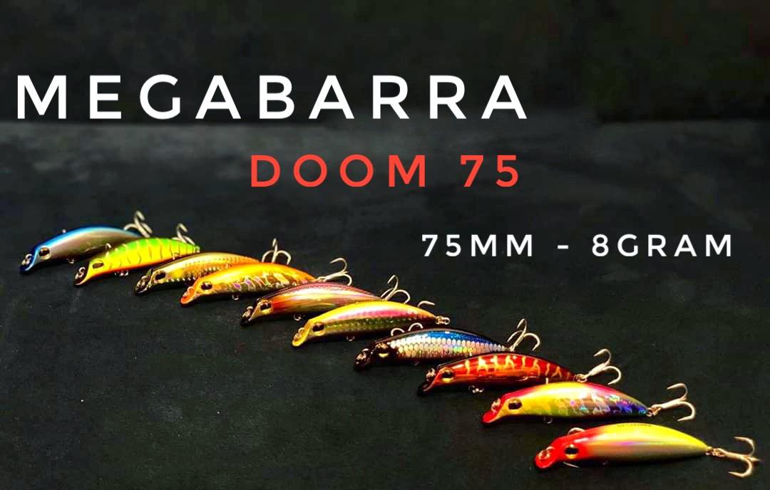 Mồi lure Megabarra Doom 75