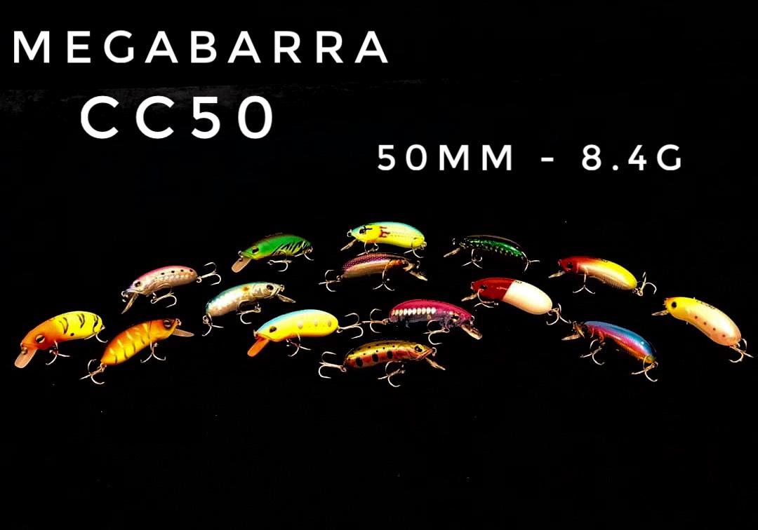 Mồi lure Megabarra CC50