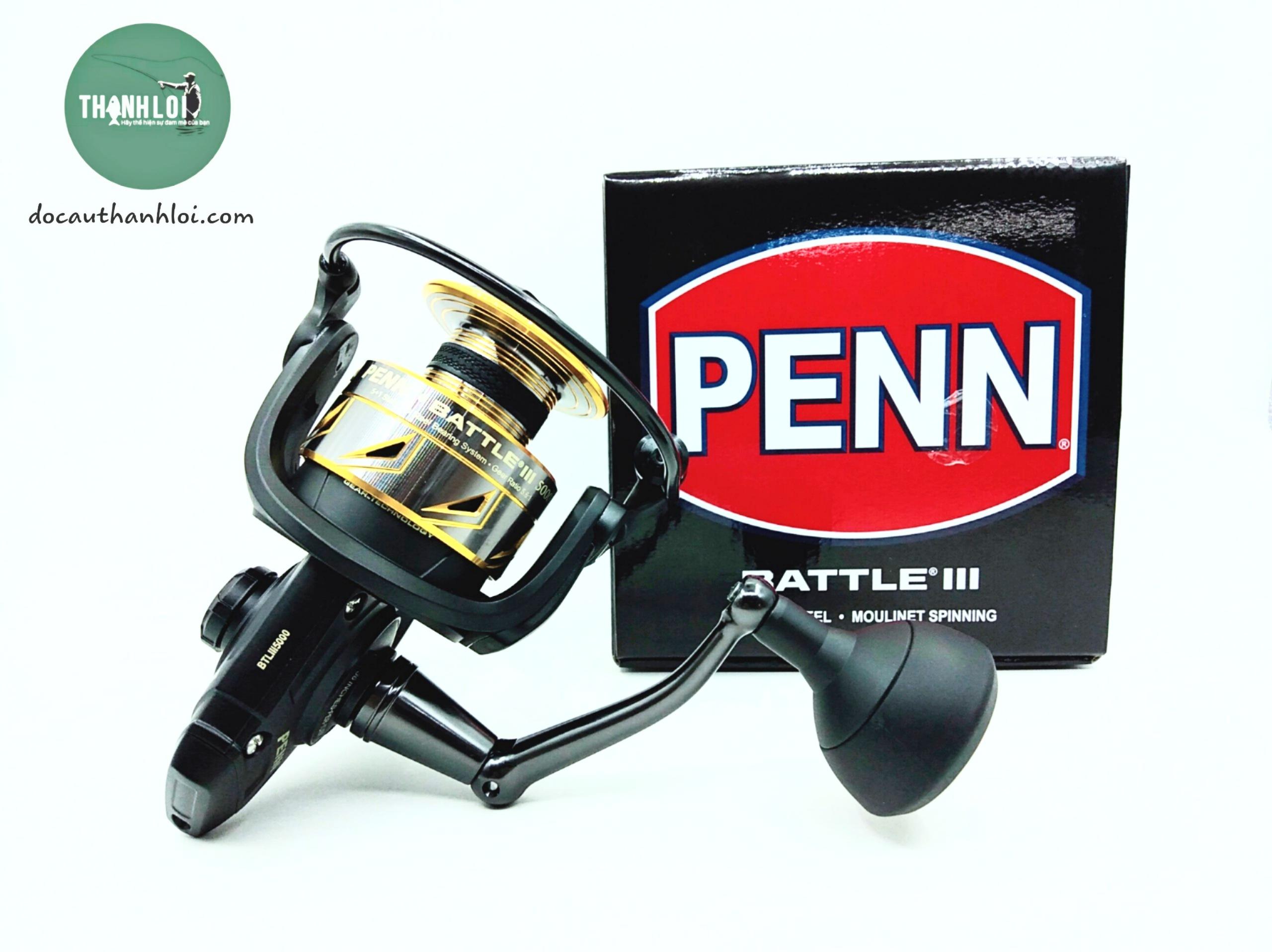 Máy Penn Battle III 5000 6000 8000 10000