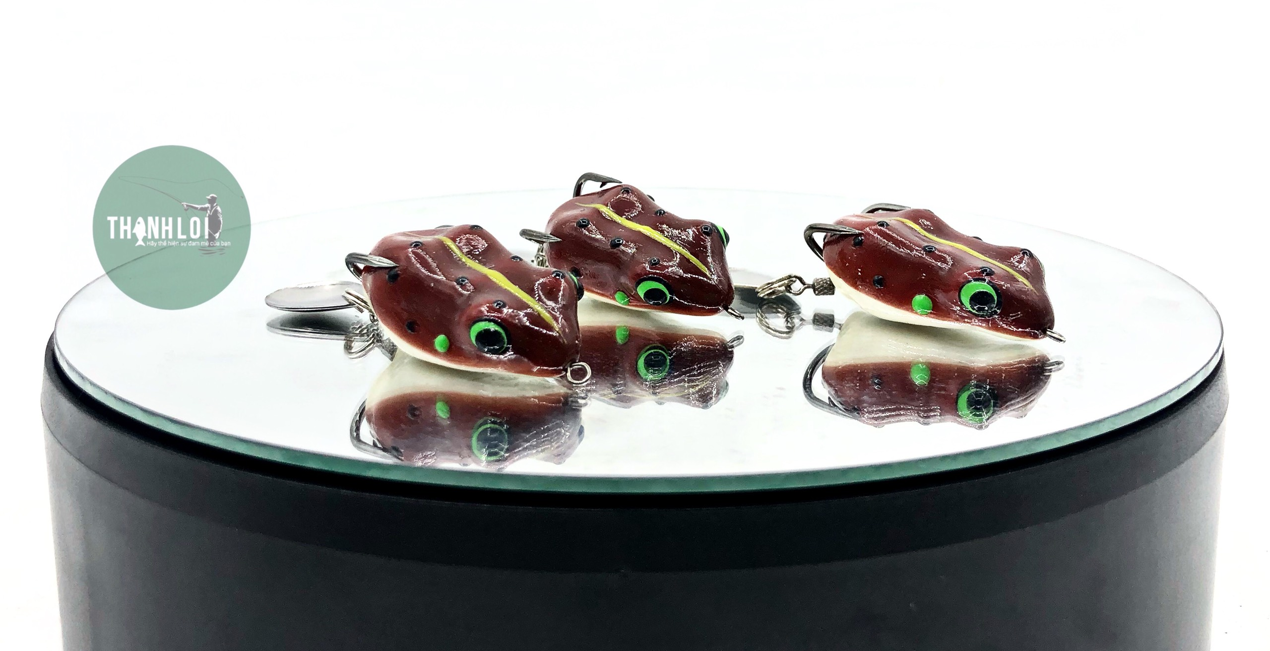 Nhái Frog Lure Thái ( 1 Thìa)