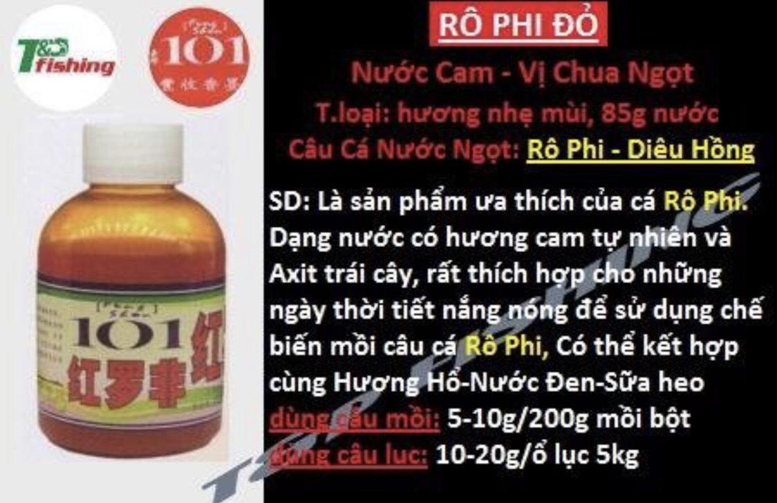 TINH MÙI RÔ PHI ĐỎ 101