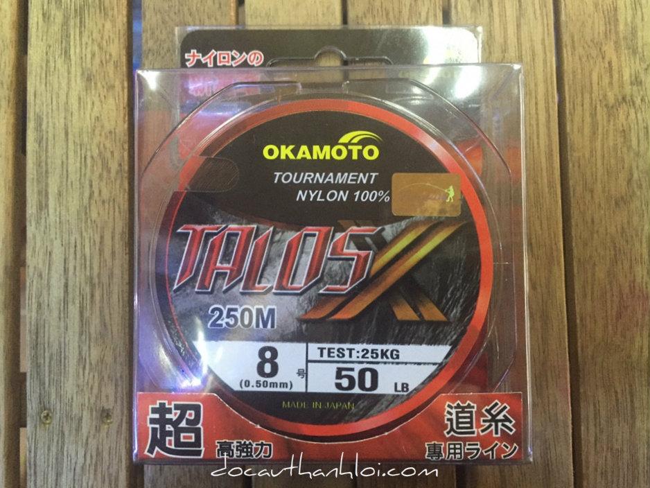 Dây cước Okamoto TALOS (250m)