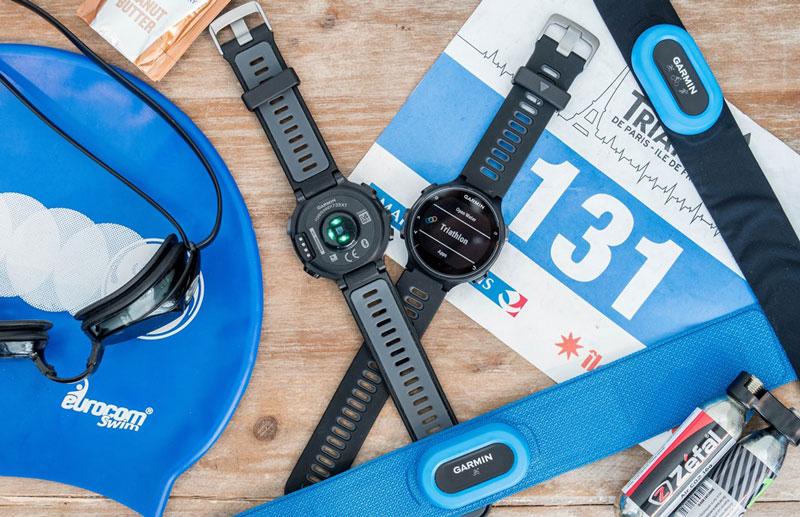 Đồng hồ Garmin cùng cảm biến nhịp tim Garmin